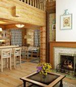Красивые дома из бруса фото внутри и снаружи – дизайн деревянного коттеджа из клееного пиломатериала, имитация поверхностей под брус, русский стиль внутри помещений